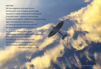 "The Spiritual Meaning of John Gillespie Magee's Poem ""High Flight"""
